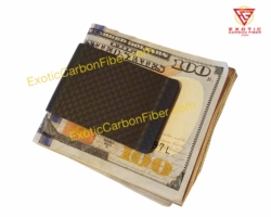 1x1 Matte Carbon Fiber Money Clip