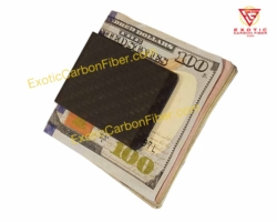 2x2 Matte Carbon Fiber Money Clip