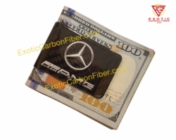 Mercedes Benz AMG Carbon Fiber Money Clip