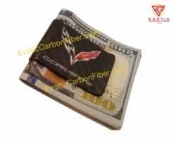 Corvette C7 Carbon Fiber Money Clip