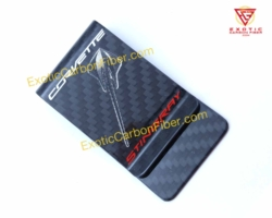 Corvette Stingray Carbon Fiber Money Clip
