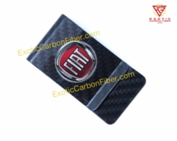 Fiat Carbon Fiber Money Clip