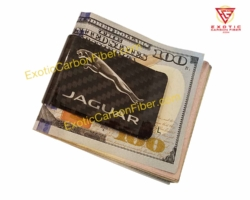 Jaguar Carbon Fiber Money Clip