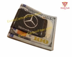 Mercedes Benz Carbon Fiber Money Clip