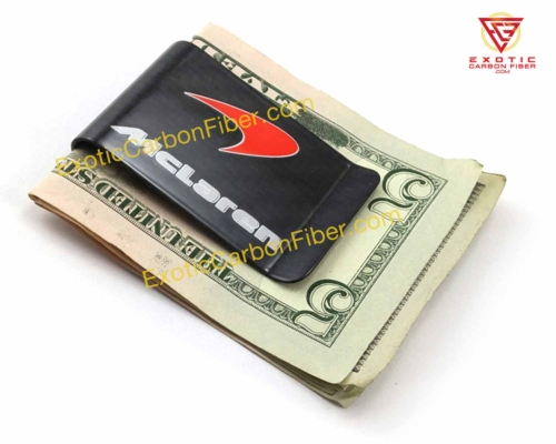 McLaren Carbon Fiber Money Clip