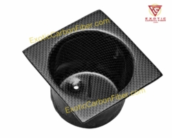 Ferrari Carbon Fiber Cup Holder
