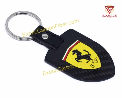 Ferrari Carbon Fiber Key Shield