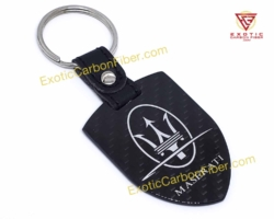 Maserati Carbon Fiber Key Shield