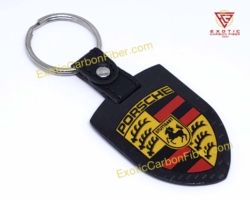 Porsche Carbon Fiber Key Shield