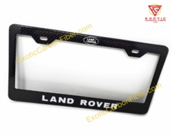 Land Rover Carbon Fiber License Plate Frame