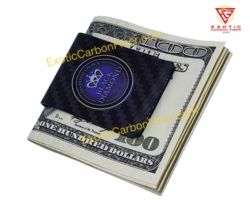 Black Diamond Carbon Fiber Money Clip