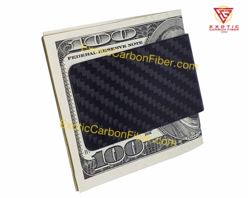 Carbon Fiber Money Clip Back