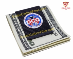 Porsche Club of America Carbon Fiber Money Clip