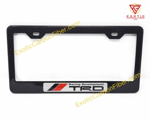 Toyota Racing Development Carbon Fiber License Plate Frame